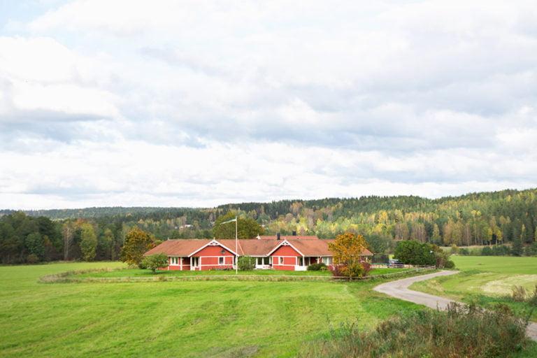 kullen hus på avstånd