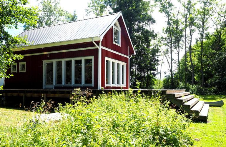 rött hus gringelstad