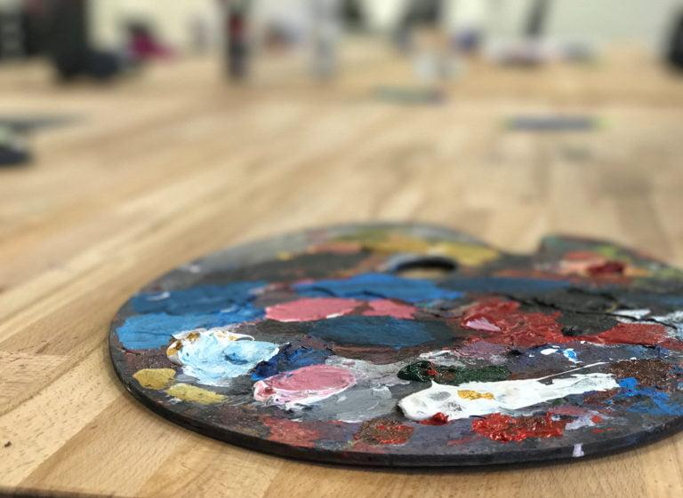 målarpalett